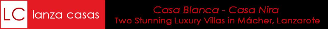 Lanza Casas – Casa Blanca and Casa Nira Mácher Lanzarote